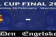 efl cup finale søndag