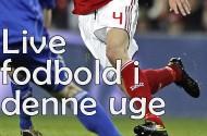 Live fodbold på Den Engelske i denne uge